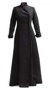 Abrigo largo corte japonés