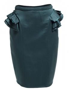 Falda volantes laterales