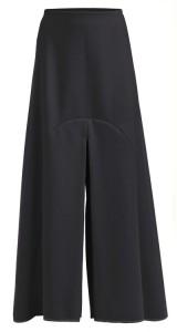 Falda-pantalón corte japonés