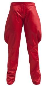 Pantalón pitillo pliegues laterales